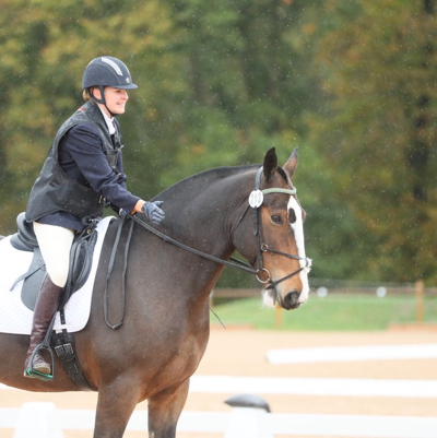BD Online Associated Championships horse and rider