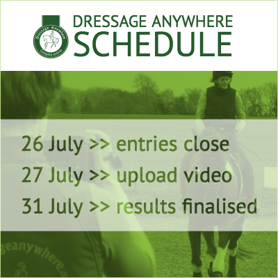 Online Dressage Entries Close Date