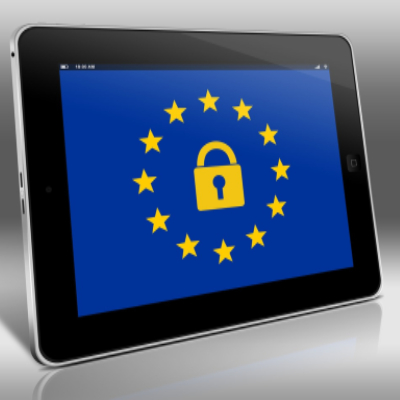 iPad with EU and GDPR