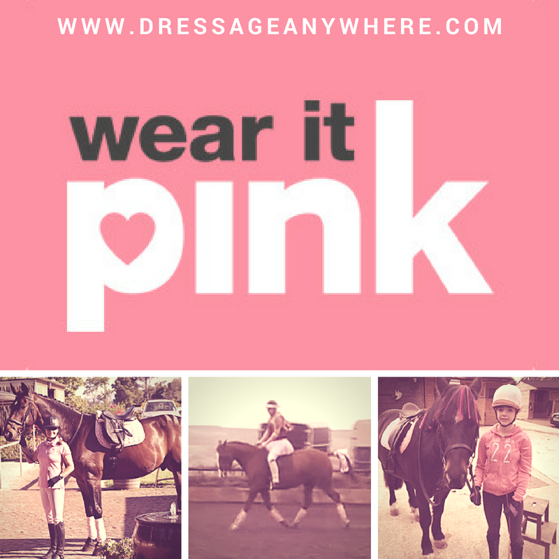 Wear it pink logo