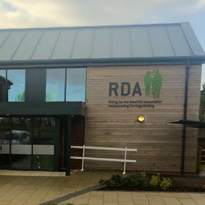 Office building with RDA logo