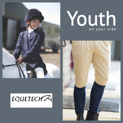 Junior competition jacket and men's breeches