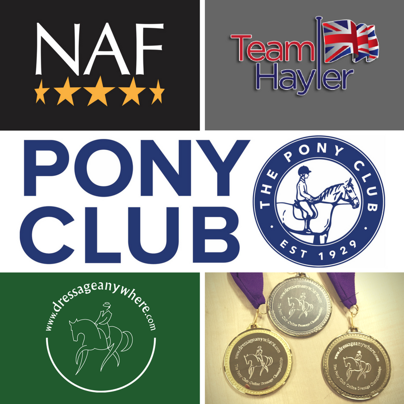 The Pony Club sponsors
